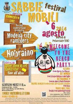 Sabbie Mobili Festival - Marina di Petacciato (Campobasso) 6 Agosto 2014