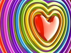 Hearts, rainbow, colorful                                                                                                                                                                                 More
