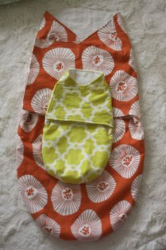 Pattern for baby swaddle & baby DOLL swaddle for big sis.