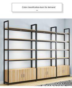 Rack Design, Shelf Design, Retail Store Design, Store Interior Design, Back Bar Design, Industrial Style Kitchen, Muebles Living, Store Layout, Counter Design