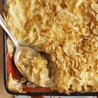 (heart-healthy) cheesy potatoes
