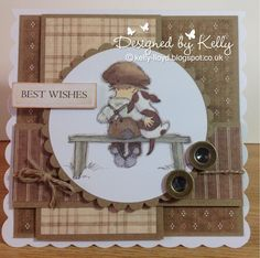 LOTV - Art Pad 1 Vintage Boys with Country Gent papers by Kelly Lloyd