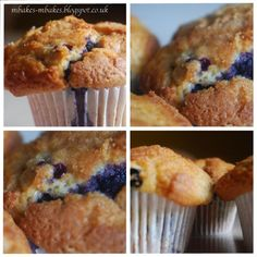 mbakes: Moist Blueberry Muffins