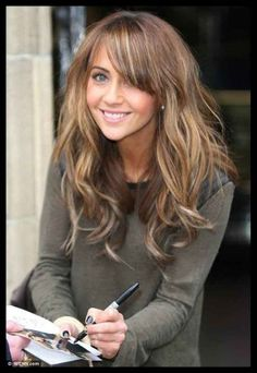 Light brown hair color with blonde