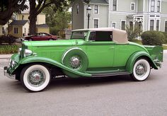 1933 Packard Eight Series 900 Roadster - (Packard Motor Car Company Detroit, Michigan 1899-1958)