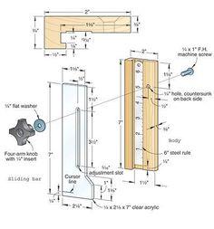 height gauge plan