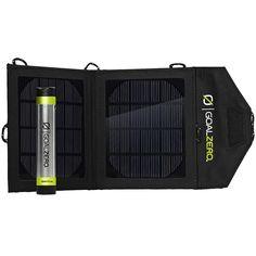 GOAL ZERO Switch 8 Solar Recharging Kit - Eastern Mountain Sports