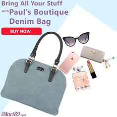 Bawa semua barang kamu dengan tas trendy dari Pauls Boutique yang satu ini. Beli sekarang hanya di imart89.com https://goo.gl/wfzdV7