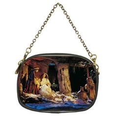 TheCityDesignGroup - Christmas Nativity Scene Christian W Jesus Chain Purse Single-Side Design, $59.99 (http://thecitydesigngroup.com/products/christmas-nativity-scene-christian-w-jesus-chain-purse-single-side-design.html)