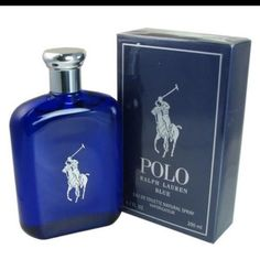 NIB POLO BLUE RALPH LAUREN Spray for Men-6.7 Oz Brand new in box large Polo by Ralph Lauren Blue Eau de Toilette spray. Box is sealed, never opened- new from store. Ralph Lauren Other