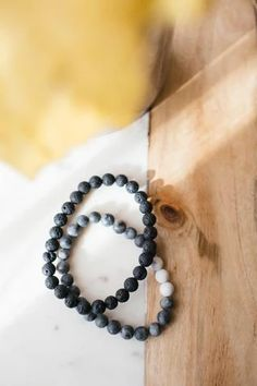 Mens Beaded Bracelet – Pineridge Hollow