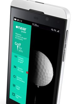 BLACKBERRY Z10 GOLF APP - SPAINCREATIVE