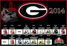 Georgia Bulldog Football 2014