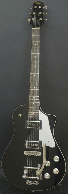 Asher Electro Sonic Neck Thru --- https://www.pinterest.com/lardyfatboy/  I love this guitar !! Great design.