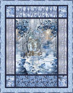 Scenic Snowfall-osie