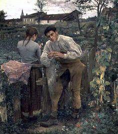 """Rural Love""  Jules Bastien-Lepage"