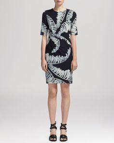Whistles Dress - Sophia Bamboo Print
