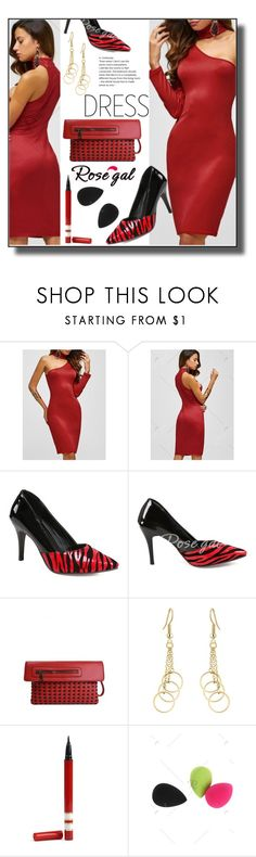 """""""Choker Dresses-ROSEGAL"""" by jelena-880 ❤ liked on Polyvore featuring rosegal and chokerdress"""