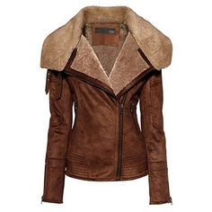 Regal Fawn Flight Bomber Jacket - reeeally wish I could afford one like this. Damn you, leather!