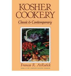 Kosher Cookery Classic and Contemporary AvRutick Frances R  Author    Hardcover  1989 *** Check out the image by visiting the link.