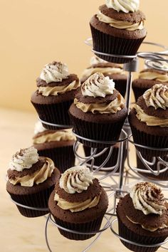 Cappuccino Cupcakes #Recipe  #Greens