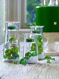 Green Christmas idea! #symmetrytrio #partylite