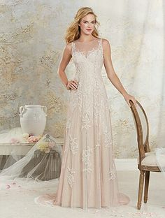 Alfred Angelo - Style 8530, Would like this more fitted (Front) (a)