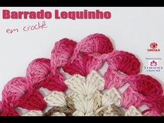 Bico tapete Crochê - Professora Simone - YouTube