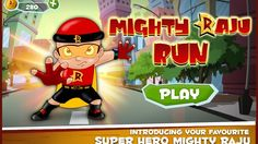 Mighty Raju Run Gameplay on Android