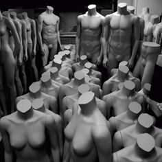 i absolutely love mannequins, forms, busts...