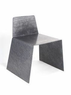 Galvanized Chair (2013) by Jonathan Nesci