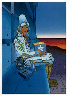 Starwatcher by moebius
