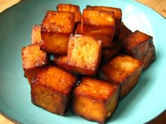 Baked tofu can go along with any recipe such as a salad or a main dish.