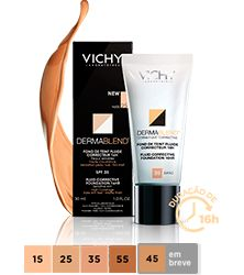 Vichy Dermablend Base Fluída FPS 35 - 30ml