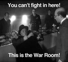 Dr. Strangelove  - possibly the greatest line in movie history?