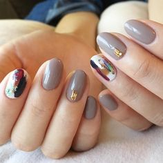 Short Nail Designs, Nail Art Designs, Nails Design, Red Nails, Hair And Nails, Abstract Nail Art, Classy Nails, Girly, Short Nails