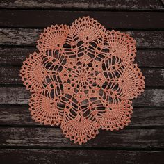 Excited to share the latest addition to my #etsy shop: LOST IN WEB Crochet Napkin Coral http://etsy.me/2EqvZGB #housewares #homedecor #orange #crochet #napkin #knit #handmade #interior #hygge #forsale #design