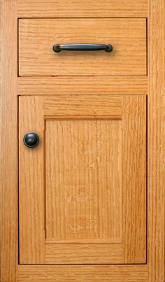 Quarter-Sawn-Red-Oak-.-Inset-Door