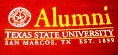 Texas State University  .  Bling Blinky of TEXAS