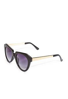 Tortoise Cat-Eye Sunglasses | Forever21 - 1000118946