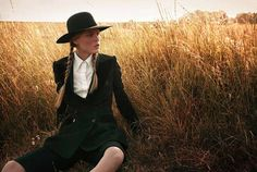 Normally I don't post fashion shoots but Amish inspired... that seemed to hit home. Ilva Hetmann and Erin Axtell Flair Italy Present an Editorial