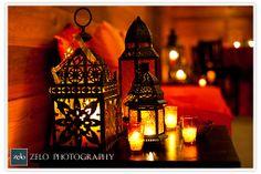 Old fashioned lanterns