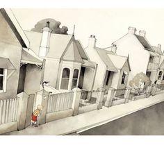Amy & Louis by Freya Blackwood House Illustration, Alexander Calder, Fairytale Art, Crayon, Illustrations Posters, Home Art, Art Forms, Black Pencil, Naive