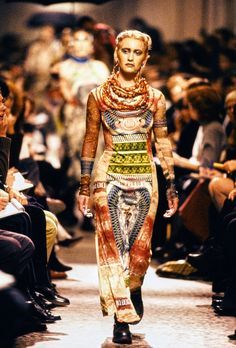 a040908a8c11a Jean Paul Gaultier Spring 1994 Ready-to-Wear Collection Photos - Vogue 90s  Fashion