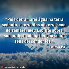 Isaías 44:3
