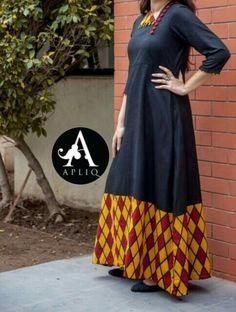 Kurta Designs, Blouse Designs, Pakistani Dresses, Indian Dresses, Latest Indian Fashion Trends, Indian Attire, Indian Suits, Indian Wear, Kurti Embroidery Design