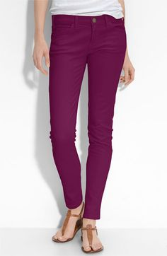 Bright Plum Colored Jeans - today's purchase!