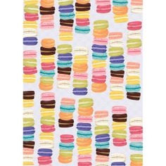 Macarons Wrapping Paper from Paper Source. So cute!