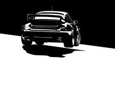Porsche 911 Turbo Vector http://amzn.to/2tNZNTY