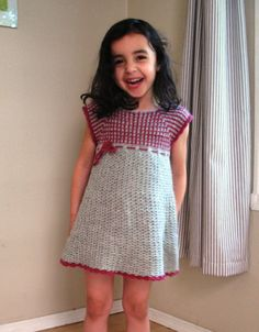 Kids Crochet Dress Pattern No. 14